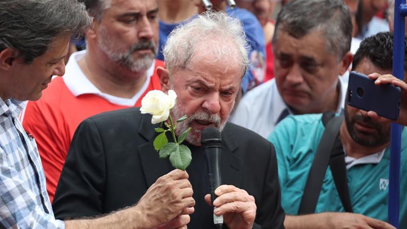Brazil Ex-President Lula Vows Left Will Defeat Bolsonaro in 2022