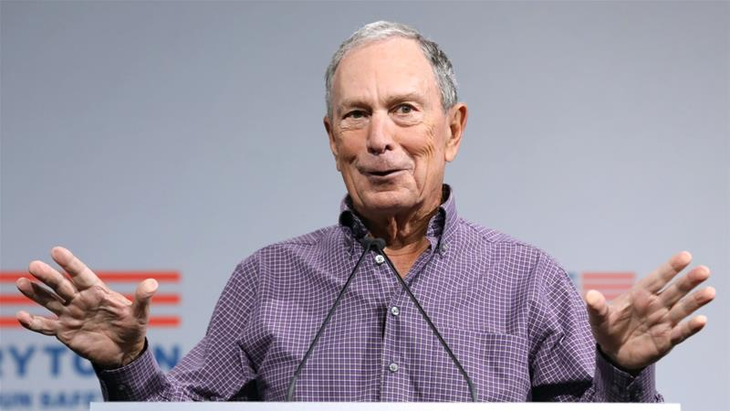 Michael Bloomberg takes step towards US presidential run