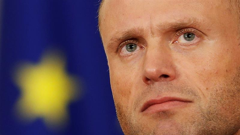 Muscat said he wanted the probe into Caruana Galizia's death 'closed under my watch' [Yara Nardi/Reuters]
