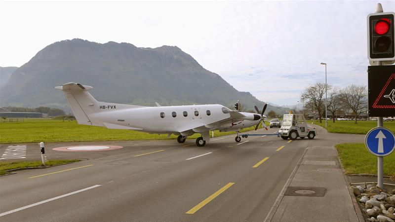 The Pilatus PC-12 a single-engine turboprop plane crashed shortly after take-off