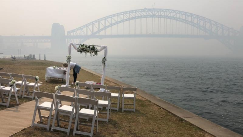For two weeks, Australia's biggest city, Sydney, has been shrouded in smoke [Andrew Thomas/Al Jazeera]