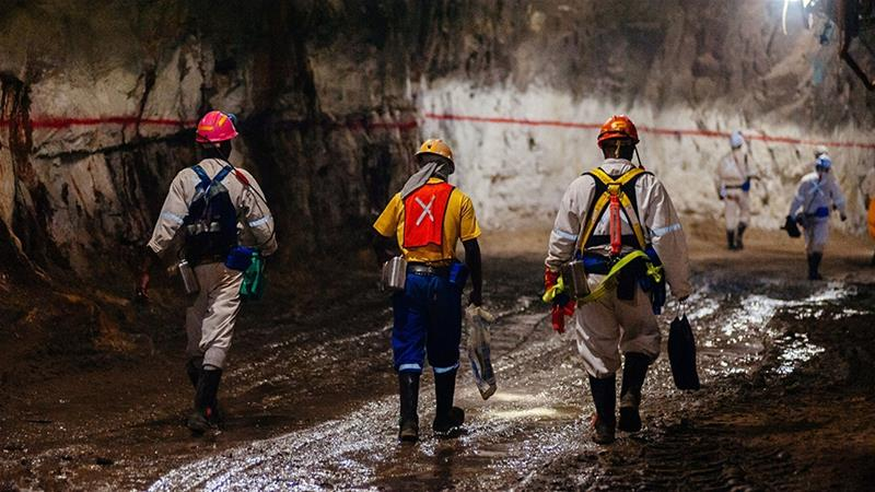 Gold and platinum mines across South Africa have been forced to cut production after flash floods triggered the largest power outages in more than a decade [File: Waldo Swiegers/Bloomberg]