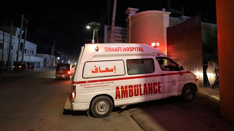 Five killed in hotel attack in Somali capital
