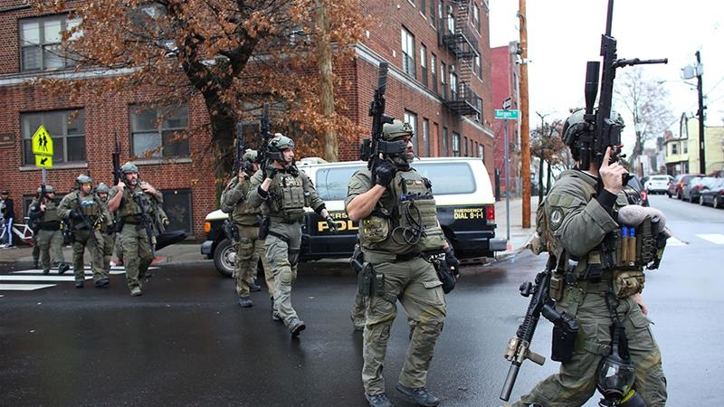 Six dead in hours-long New York-area shootout
