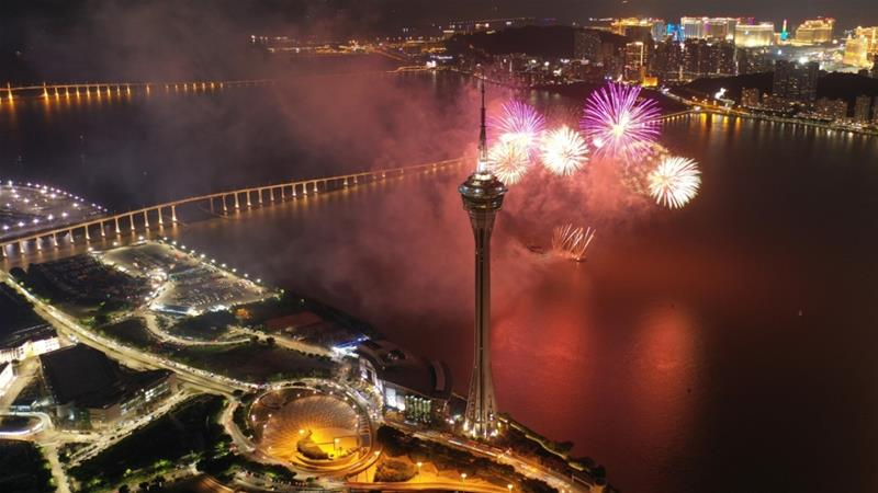 Policies aimed at transforming Macau into a financial hub are 'a gift...for Macau being a good boy,' said Larry So, political commentator and retired Macau university professor [File: Third party via Reuters]