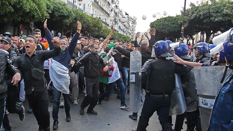 Polls close in Algeria election denounced by protesters as 'sham'