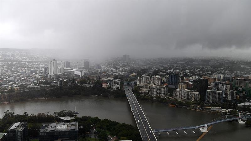 Heavy rains hit the east coast of Australia