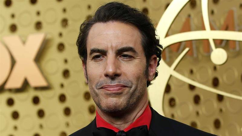Sacha Baron Cohen arrives at the 71st Primetime Emmy Awards in Los Angeles, California on September 22, 2019 [Reuters/Mario Anzuoni]