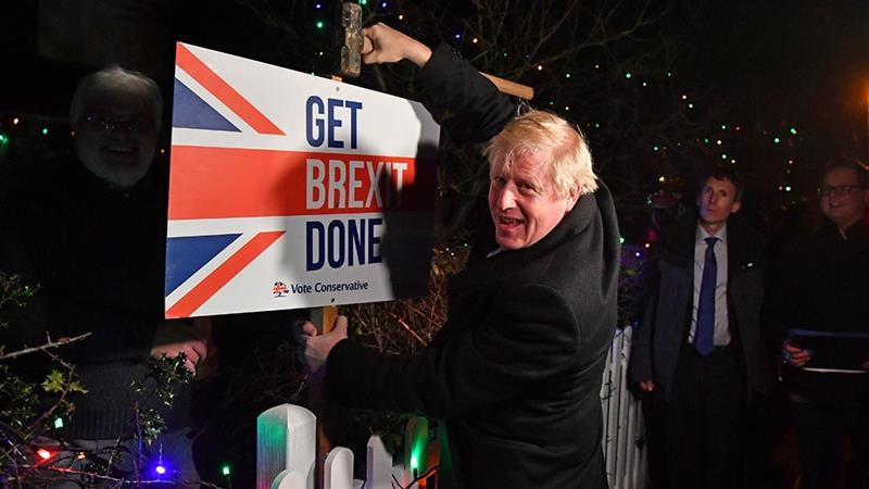 UK PM Johnson signs Withdrawal Agreement, paving way for Brexit