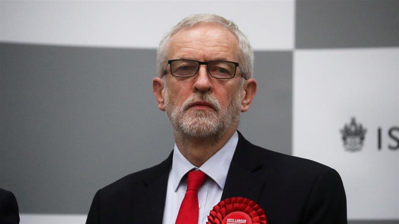 With Brexit, Corbyn was accused of an absence of leadership on the biggest issue of the day [Hannah McKay/Reuters]
