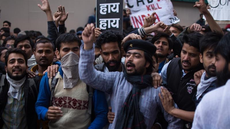 Protests against Indian citizenship law extend to fourth day