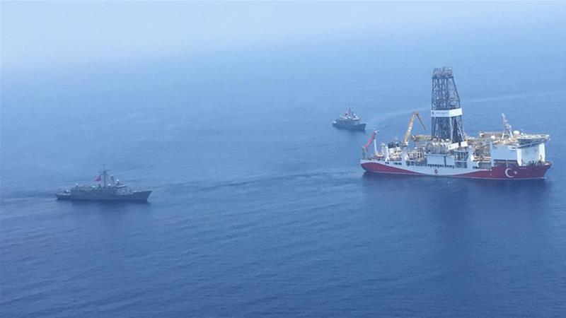 The Isreali research ship was escorted out of waters off the coast of Cyprus [File: AFP]