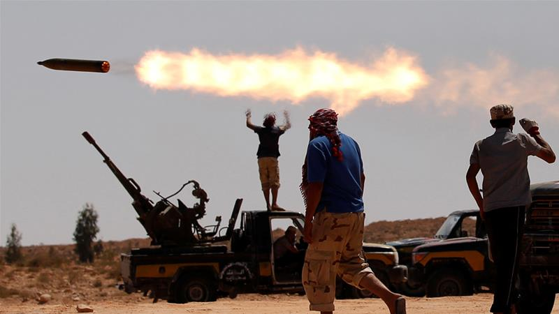 Fighting for control of Tripoli has raged over the past 24 hours, both sides say [File: Goran Tomasevic/Reuters]