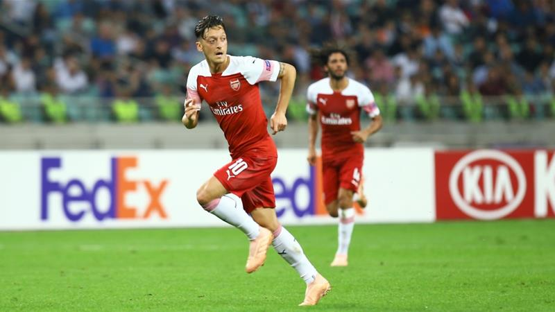 China state TV pulls Arsenal game after Ozil Uighur comments