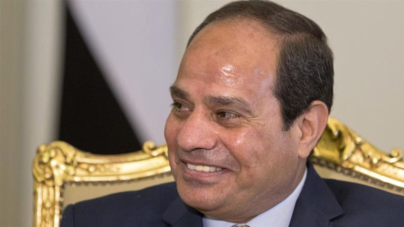 President Abdel-Fattah el-Sisi has been accused of human rights abuses since he seized power [Amr Nabil/Reuters]
