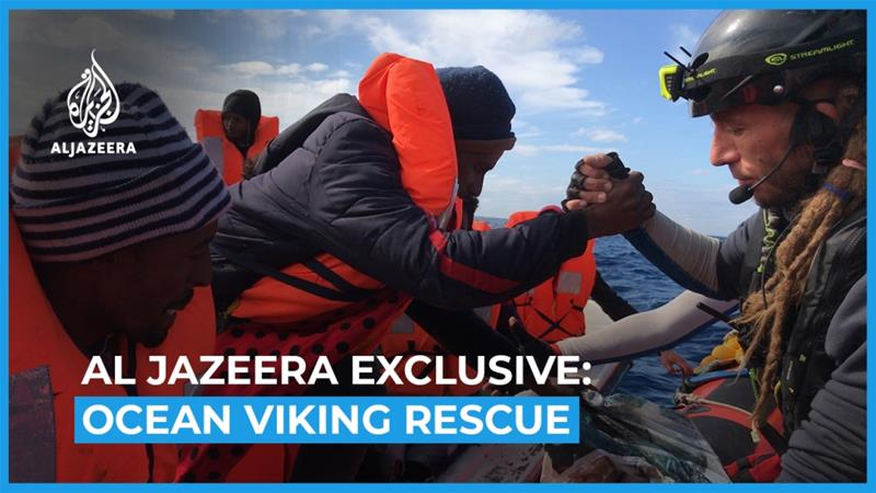 AJ Exclusive: On board the rescue ship Ocean Viking