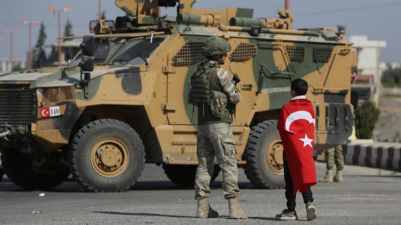 Email sent on behalf of UAE embassy in Washington condemned Turkey's military operation in northeast Syria [File: Bakr AlKasem/AFP]