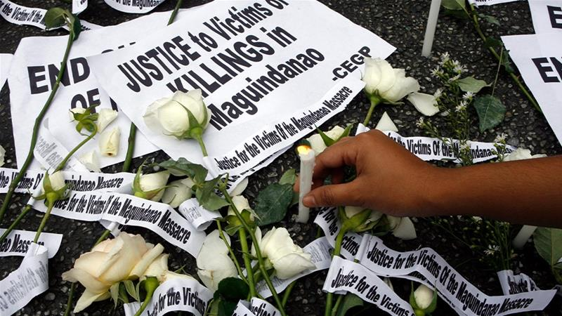 Philippine court finds massacre masterminds guilty of 57 murders