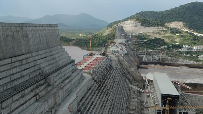 The Grand Ethiopian Renaissance Dam on the Blue Nile promises to provide much-needed electricity to Ethiopia's 100 million people [File: Tiksa Negeri/Reuters]