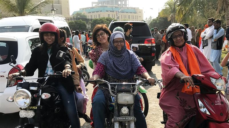 Because many women commuters either work or study, being forced to alter their routines due to harassment can undermine their financial independence and negatively impact the broader economy [File: Alia Chugtai/Al Jazeera]