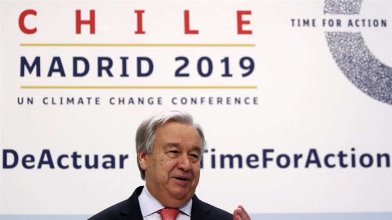 The UN chief's climate warning should shake the world