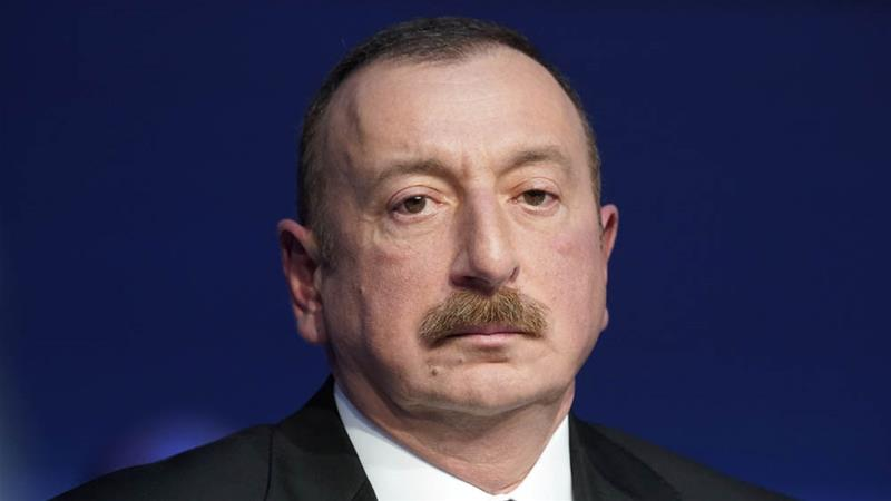 Aliyev has ruled the oil-rich ex-Soviet state since shortly before his father's death in 2003 [File: Denis Balibouse/Reuters]