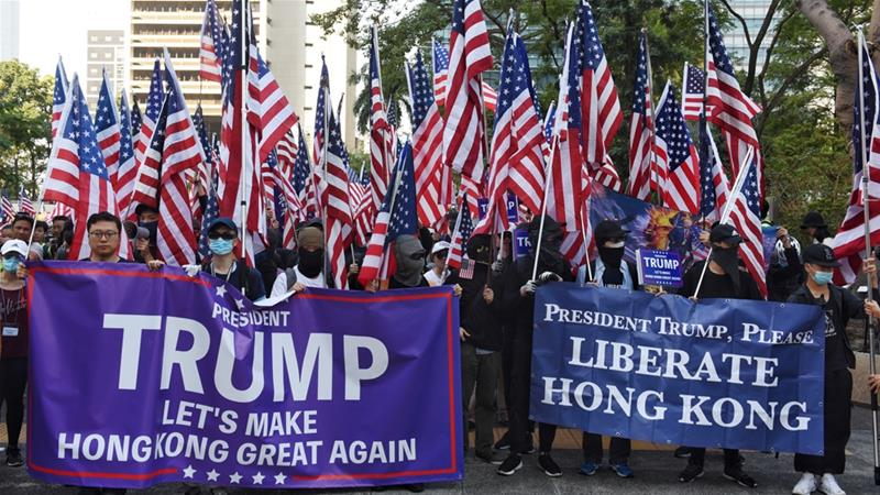 China suspends US army's Hong Kong visits in response to new law