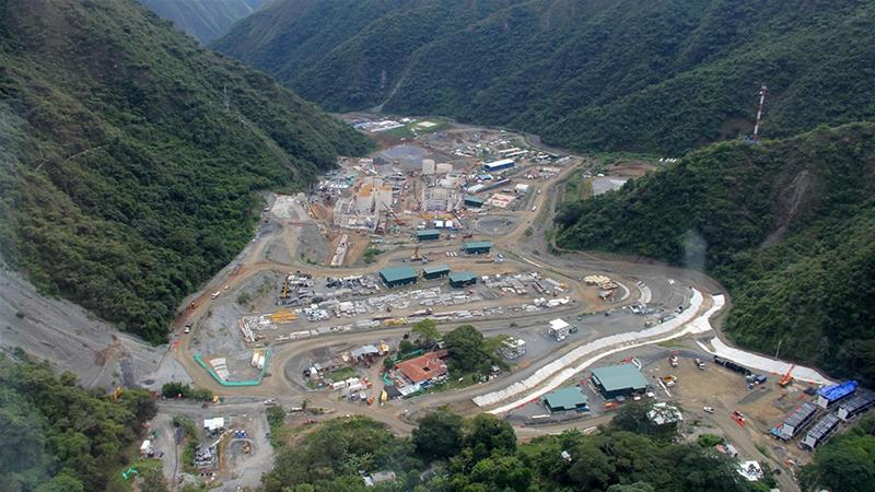 The acquisition of Toronto-based Continental Gold Inc, who is developing the Buritica mine project in mineral-rich Colombia, is expected to eventually boost the mine's gold reserves by more than 2,000 tonnes [File: Julia Symmes Cobb/Reuters]