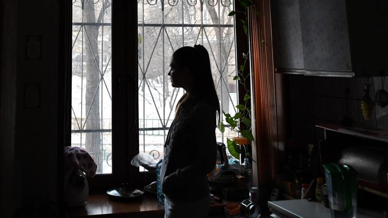 France intervenes after reports of domestic abuse to police jumped 36 percent in Paris and 32 percent elsewhere in France after the coronavirus restrictions came into force [File: Kirill Kudryavtsev/AFP]