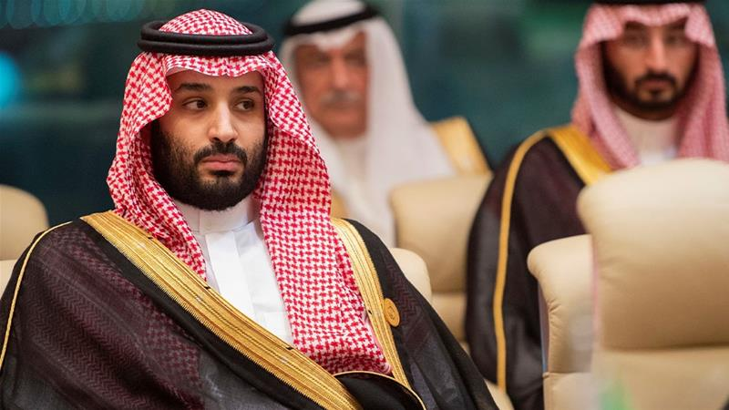 MBS had said in a 2018 TV interview that he had 'tried to minimise' executions in the kingdom [File: Bandar Algaloud/Handout/Reuters]