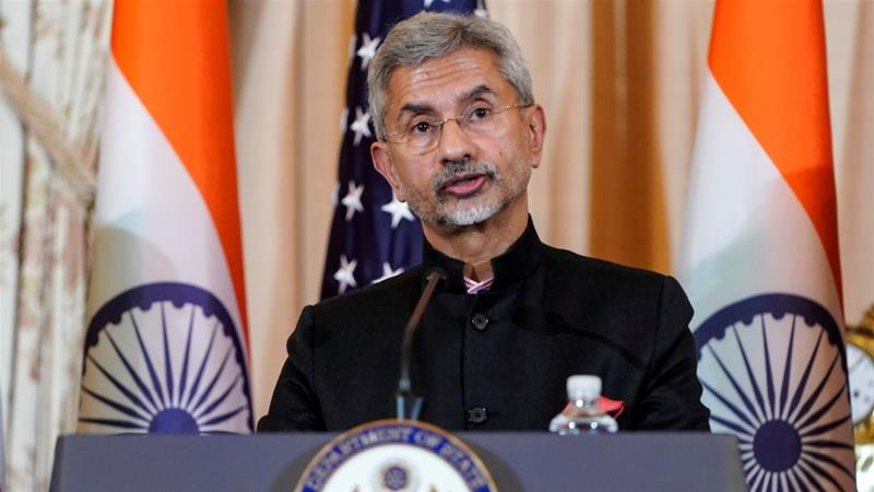 Jaishankar's trip to Washington came as protests spread across India over the Citizenship Amendment Act [Joshua Roberts/Reuters]