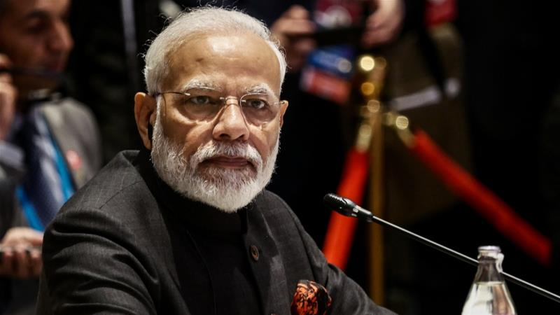 Narendra Modi is prime minister of India, which has seen defence purchases from the United States reach $17bn since 2007 as it has pivoted away from traditional supplier Russia [File:Reuters]