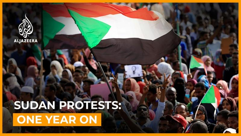 Sudan protests: One year on