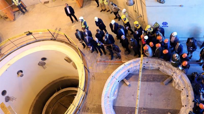 Iran unveils development at Arak reactor in face of US pressure