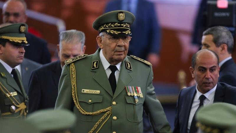 Algeria's powerful army chief who forced Bouteflika out dies