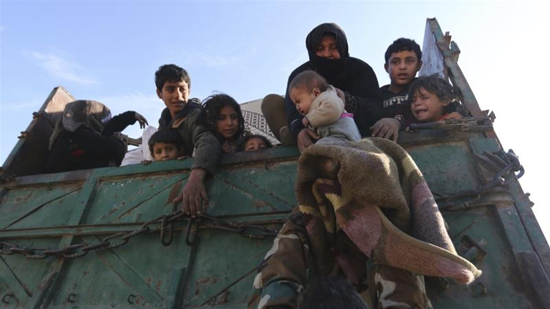 Trump warns Russia, Iran against killing innocent civilians in Syria