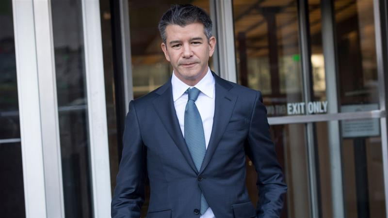 Former chief executive Travis Kalanick will now focus on his new business and philanthropic endeavors [File: David Paul Morris/Bloomberg]