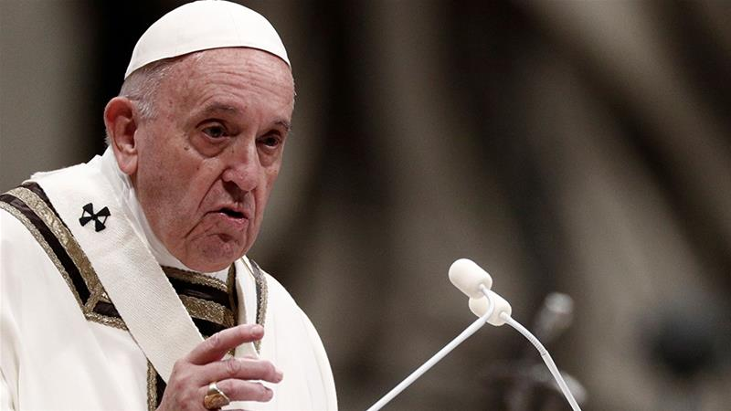 Pope Christmas Speech 2020 Pope ushers in Christmas with message of 'unconditional love