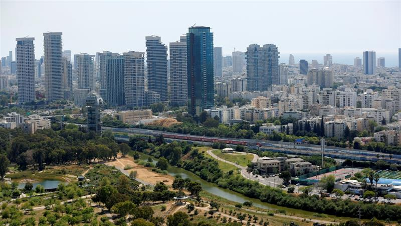A view of Tel Aviv where economists say the liberalisation of Israel's economy has reduced sensitivity to regional flare-ups and that any impact from violence will be fleeting [File: Corinna Kern/Reuters]