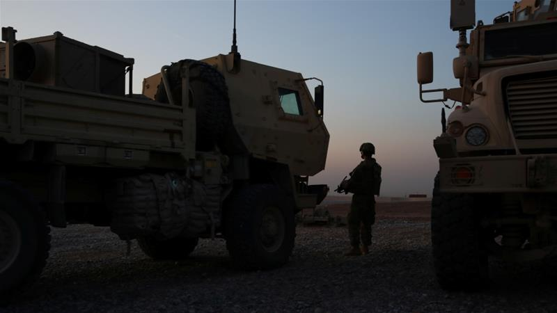 About 5,000 US troops are currently based in Iraq [File: Jonathan Ernst/Reuters]
