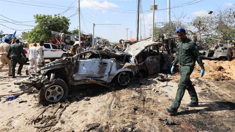 Dozens killed in Mogadishu car bomb attack
