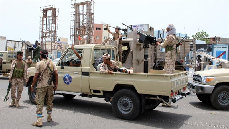 Missile kills 10 at military parade in Yemen's south