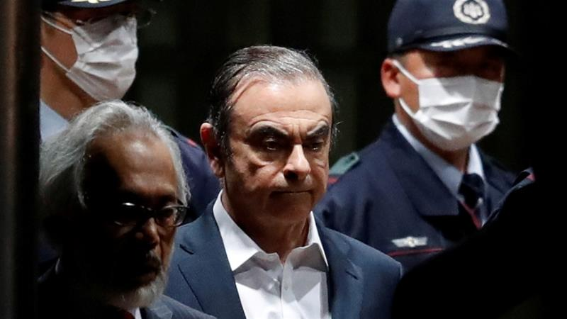 Carlos Ghosn arrives in Beirut after house arrest in Japan