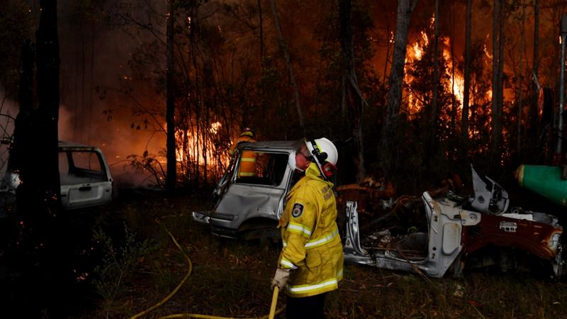 Australian investors consider what bushfires mean for certain stocks