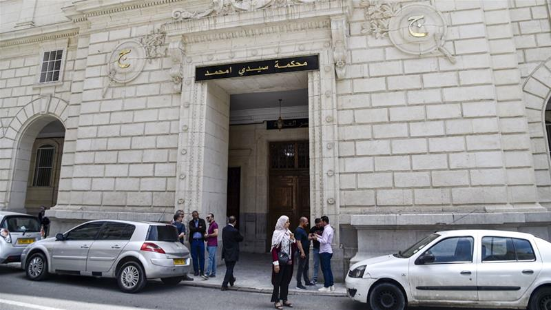Algerian authorities are hoping the trial helps convince the public that they are serious about fighting corruption and reforming themselves [File: Ryad Kramdi/AFP]