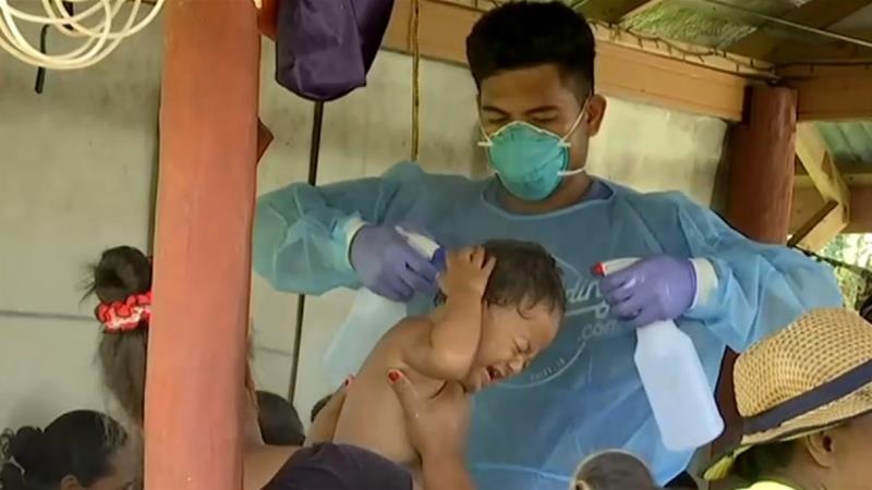 Samoa Battles Measles Epidemic