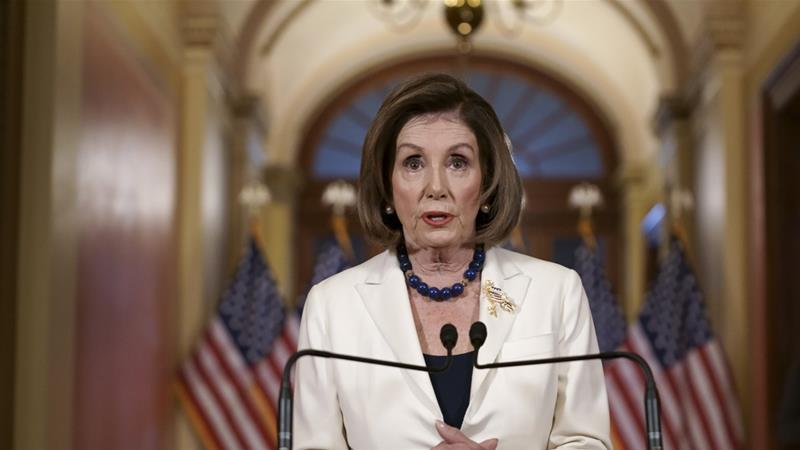 US House to draft impeachment charges against Trump: Pelosi