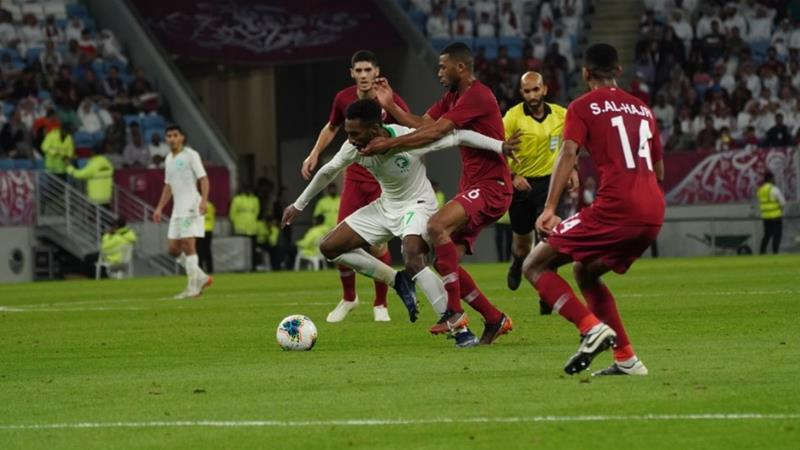 Image result for qatar 0 saudi arabia 1