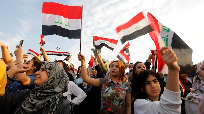 The women on the frontline of Iraq's uprising