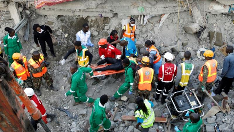 Four dead, 29 injured in Tassia building collapse